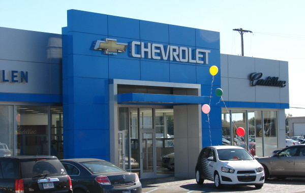 Stanford Allen Chevrolet Dealership